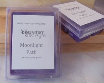 Moonlight Path Scented 100% Soy Wax Melt - Soft Floral - Maximum Scented