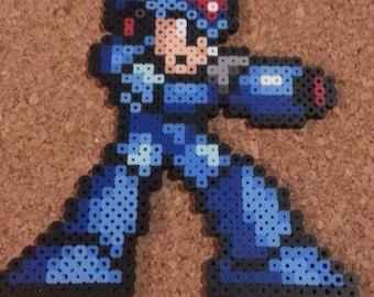 Megaman X Bead Sprite   Megaman   16 bit art