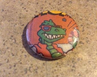 Brach's Candy Dinosaur Pinback Button