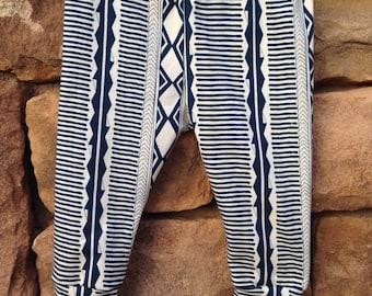 Baby leggings, tribal baby leggings, baby girl leggings, baby boy leggings, printed leggings, gender neutral baby leggings