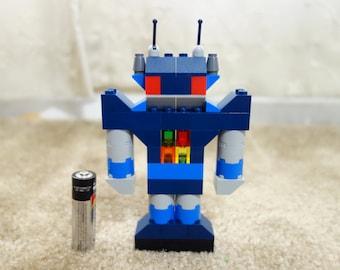 Custom Lego Robot/Optimus Prime Robot Cake Topper or gift.