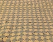 Handmade Shell Stitch Crochet Afghan Throw Blanket 30 x 60