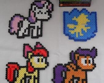 My Little Pony: FiM Cutie Mark Crusaders Bead sprites