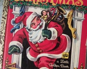 Vintage 1975 The Night Before Christmas - A Little Golden Book - Hardcover