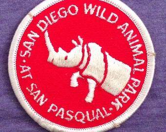 San Diego Zoo Souvenir Travel Patch