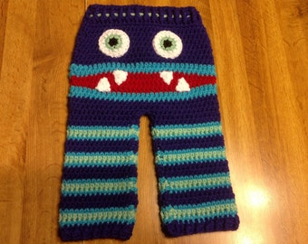 Crochet Pattern Baby Monster Pants : monster pants on Etsy, a global handmade and vintage ...