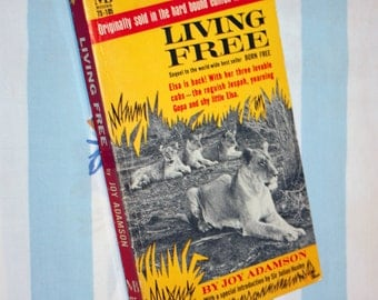 Living Free, 1962 Macfadden Book