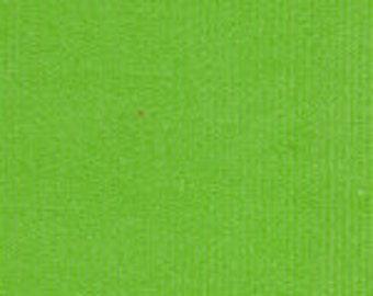 HALF YARD Apple Green Corduroy Fabric Finders Cotton Fabric