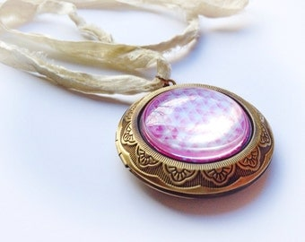 Mandala Locket