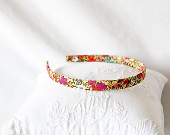 Liberty of London Fabric Covered Headband - For Women, Teens, Little Girls