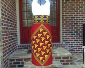 Designer African Wax Print Skirt- Pencil Skirt~Made-to-Measure - Custom Made-African Fashion