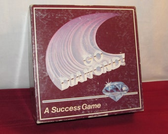 GO DIAMOND 1987 by Network System Products Hard to Find Game