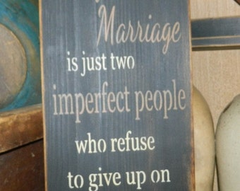 Perfecr Marriage Primitive Sign
