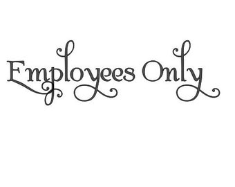 Employees Only Etsy