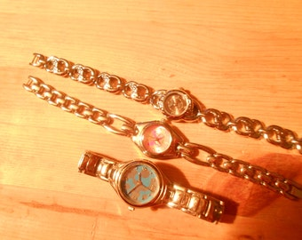 3 beautiful ladies watches