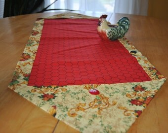 Flew The Coop Table Runner