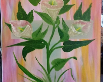 Easter lilly in the valley