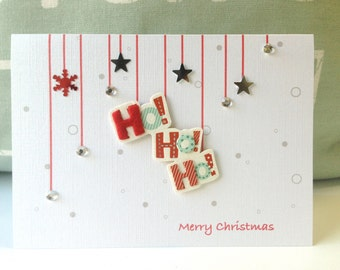 Christmas cards.  Holiday Cards . Personalized Christmas Card . Custom Christmas cards. Santa HOHOHO