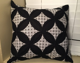 Quilted Throw Pillow Cover