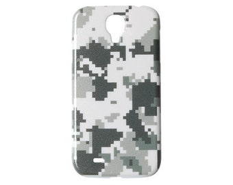 Digital Camouflage Samsung Galaxy S5 Case Back Cover For S4 Hard Plastic Cases 5 4 Color Winter Military Seasonal Camo Unique Skin Print c51