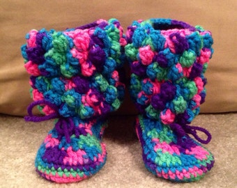 Made to order - Popcorn booties
