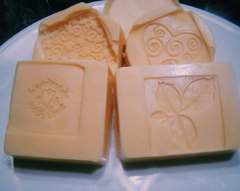 Cocoa Lotion Bars w/ Design