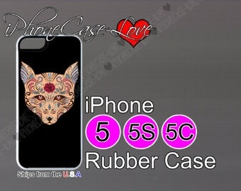 iphone 5 case - iphone 5s case - iphone 5c case -  sugar skull iphone 5 case - sugar skull iphone 5s case  - sugar skull iphone 5c case - S3