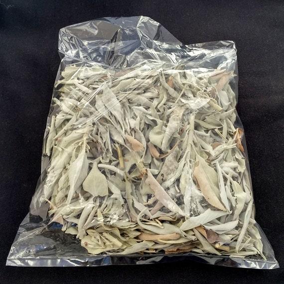 Dried white sage