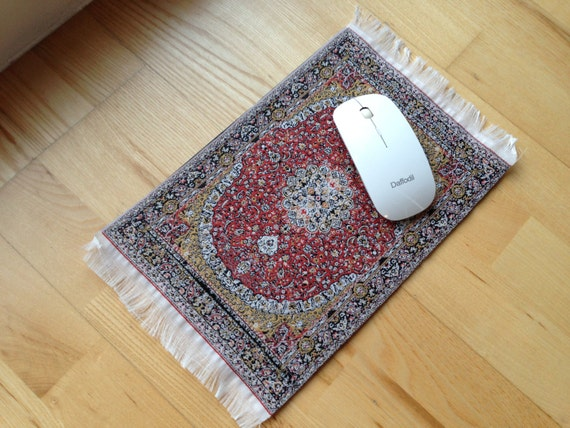 Miniature Persian Oriental Style Carpet Mouse pad by ...
