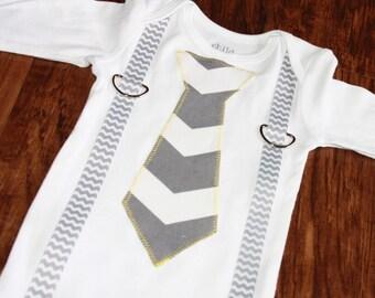 Personalized Suspender Shirt/Onesie