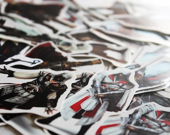 Assassin's Creed stickers set