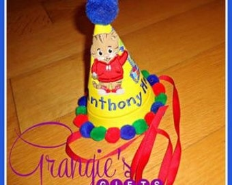 Personalized Daniel the Tiger Birthday Hat