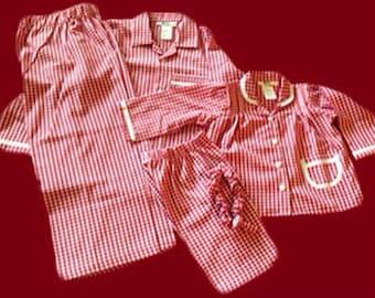 Girl, Women Family Matching Chistmas Pajamas, long sleeve long pant, mom dad boy girl pjs,Brother Sister matching pjs, Jammies,