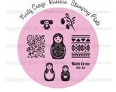Nailz Craze NC03 Stamping Plate