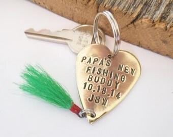 Gift For Papa Keychain For Grandpa Christmas For Grandad