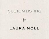 Custom Calligraphy Logo for Laura Moll