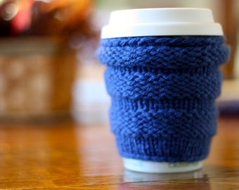 Cozy Knit Coffee Sleeve