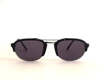 Vintage Sunglasses Lozza mod. Philippe Doppio ponte Aviator Made in Italy, Original New