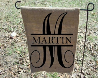 Garden Flag Personalized Etsy