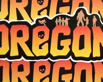 Goonies Themed Oregon Sticker