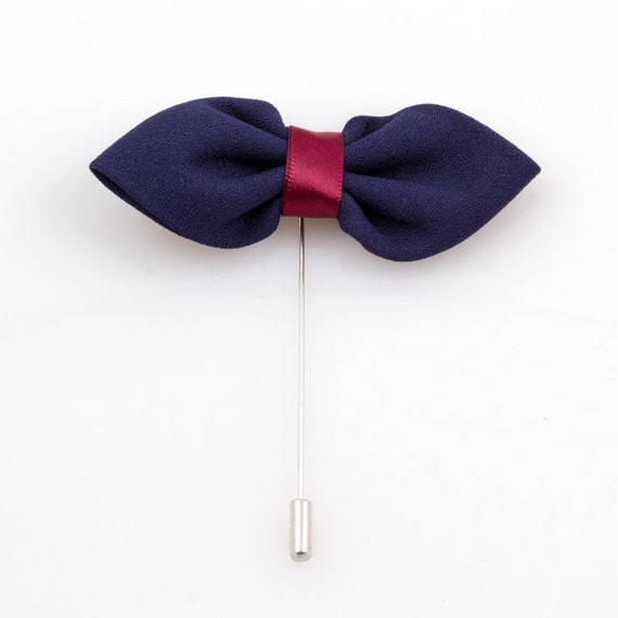 Zazzle's Bow lapel pins help you take your formal wear to the next level. Browse our great selection for designs, images, & text!