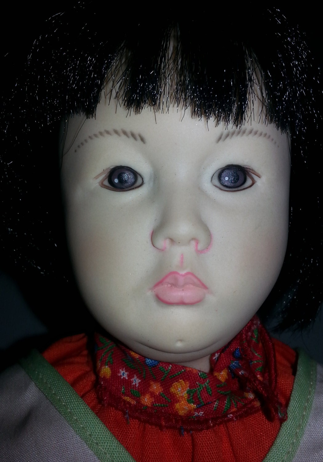 Asian Porcelain Doll 54