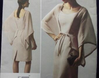 2012 Vogue V1330 BELLVILLE SASSOON Dress Pattern sz 8 thru 16 UNcut