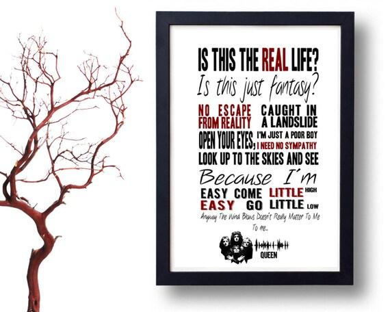 Queen Lyrics Quotes QUEEN Lyrics Po...