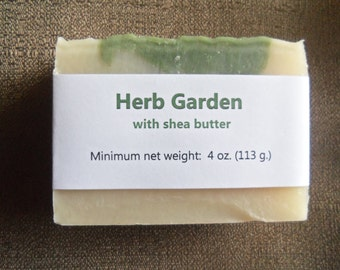 Herb Garden Essential Oil Cold Process Soap