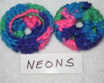 NEONS  Ear Pads/Cushions/Cookies for Phone Headset, Call Center, Hand-made, NEW.