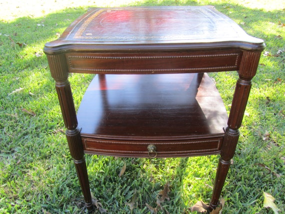 Vintage Side Table Nightstand Vintage Side Table End