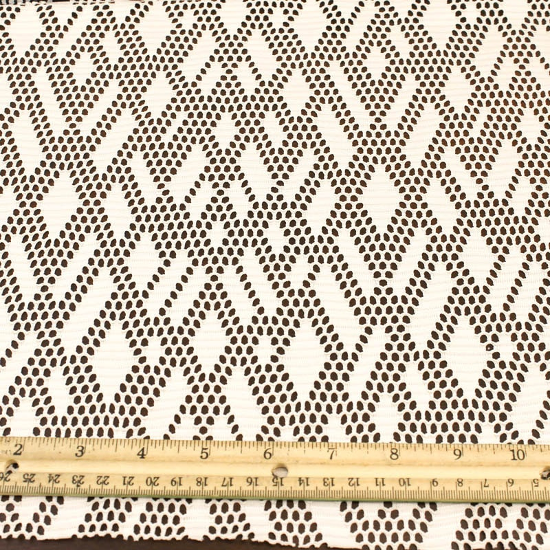 Tan stretch lace fabric by the yard or wholesale rhombus for Cheap fabric by the yard