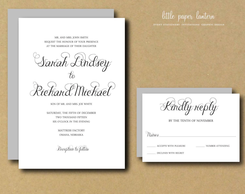 print my custom wedding invitations - 28 images - custom ...