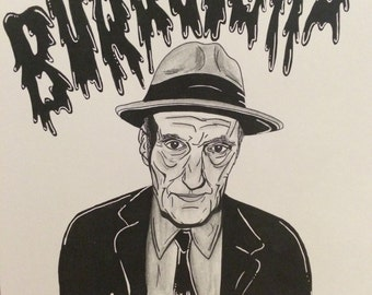 William Burroughs Illustration